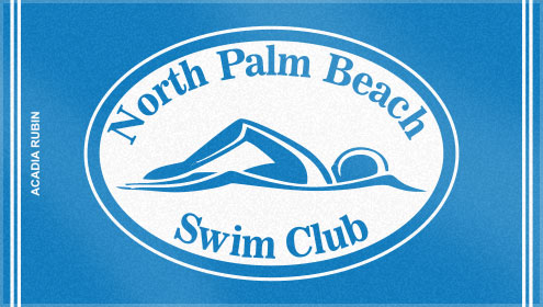 Swim Club Logo Palm Beach Swim Club
