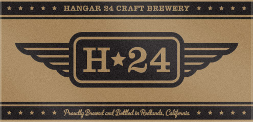 Custom Logo Beach Towel Sample for Hangar 24 Craft Brewery