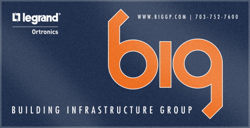 Custom Woven Logo Towels for Builders Infrastructure Group