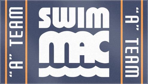 Custom Woven Swim Team Towels for Swim MAC