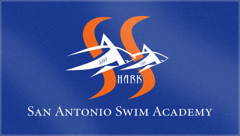 Custom Woven Beach towel for SASA Swim Team