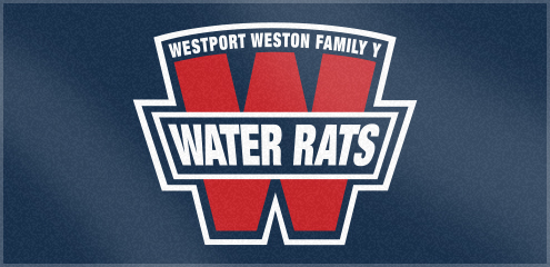 Custom Woven Swim Team Towels for Weston Family Y Water Rats