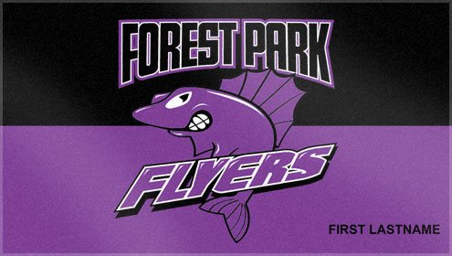 These custom woven swim team towels were created exclusively for the Forest Park Flyers. Custom Woven Towels helps swim teams create a custom swim team towel, that everyone is sure to love!